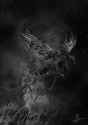 phoenix of death. by HippieInHell
