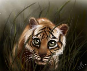Tiger by HippieInHell