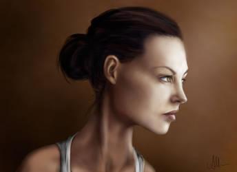 Portrait by HippieInHell