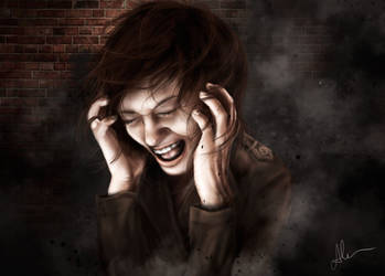 Lonely scream by HippieInHell