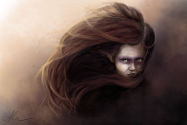 warrior by HippieInHell
