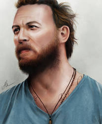 Tom Hardy by HippieInHell