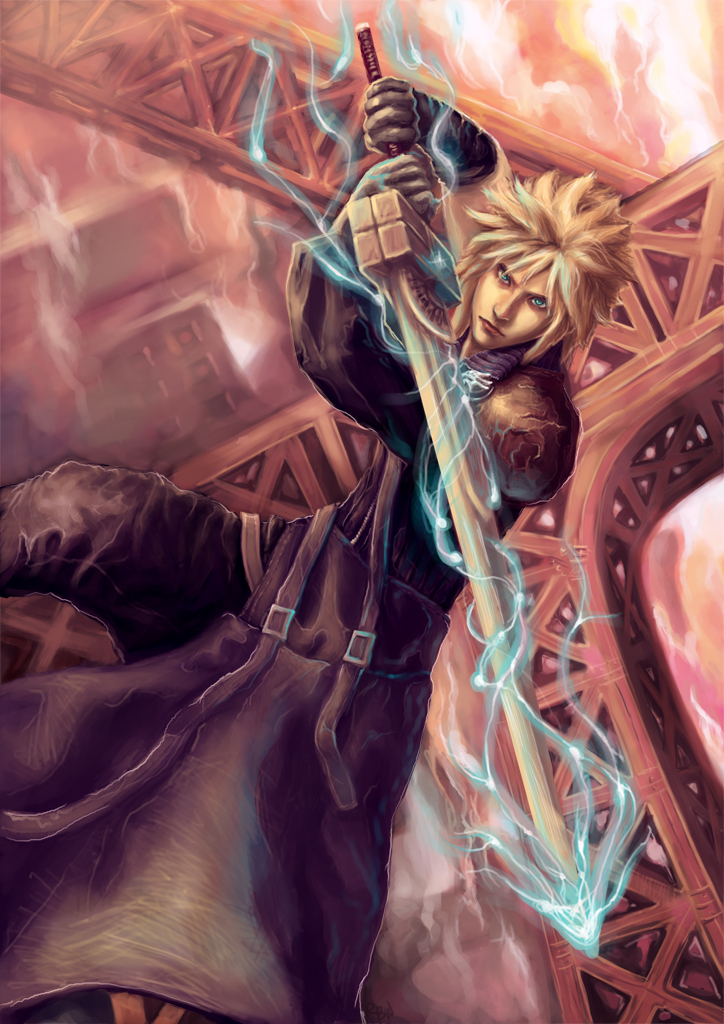 FFVII AC: Cloud Strife by vtas
