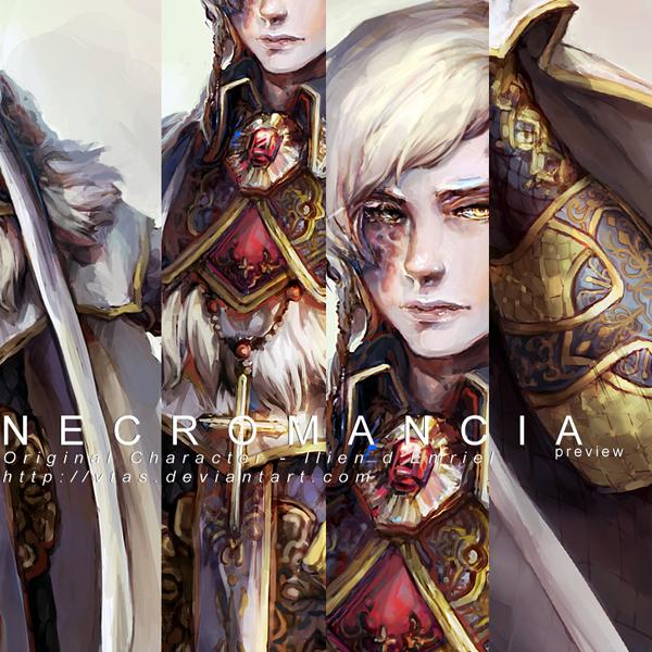 Necromancia: Preview No. 1 by vtas