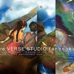 Studio Ghibli - Castle in the Sky Preview by vtas