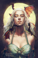 Daenerys - Game of Thrones by vtas