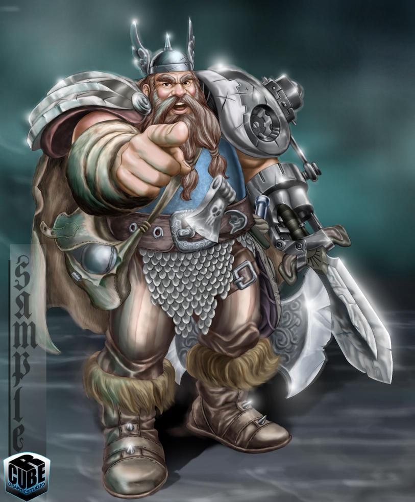 Dwarf by rcube-studio