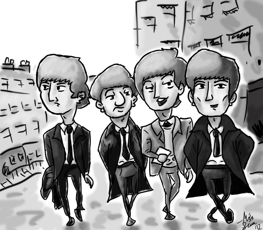 Beatles by cmdmike