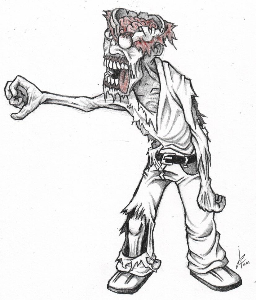 Zombie 86 by jptom on deviantart - Zombie dessin ...