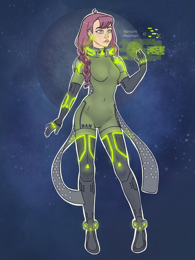 Space girl by Bianca-M