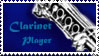 Clarinet Stamp by Invader-Dook