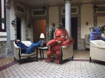 Three Monster awaiting