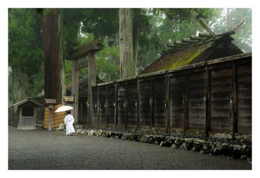 Ise Shrine by thinhlegolas
