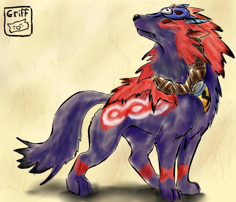 Oki Okami Wolf Just oki by silverflight