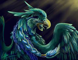 Mayan Blue by SilverFlight