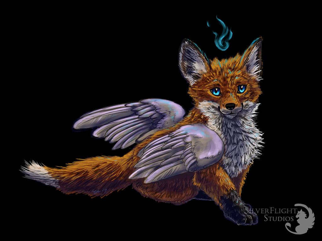 Tenshi Kitsune by SilverFlight