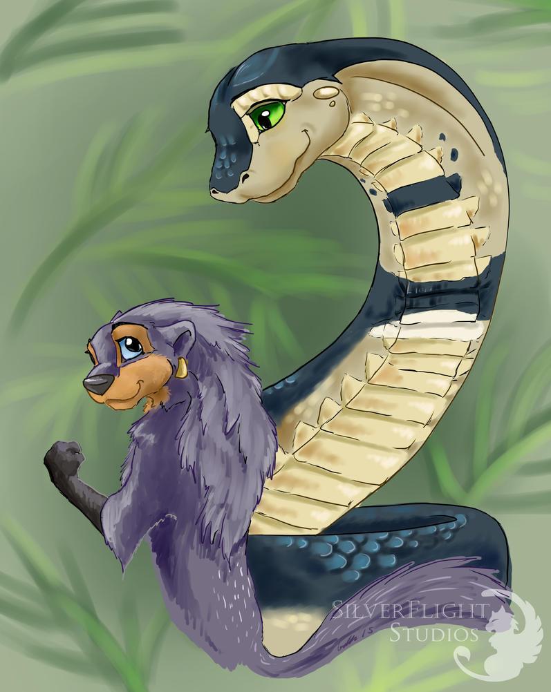 Kota and Yassira II by SilverFlight