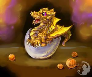 Baby Gold Dragon