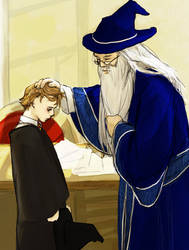 HP: small Remus and Dumbledore
