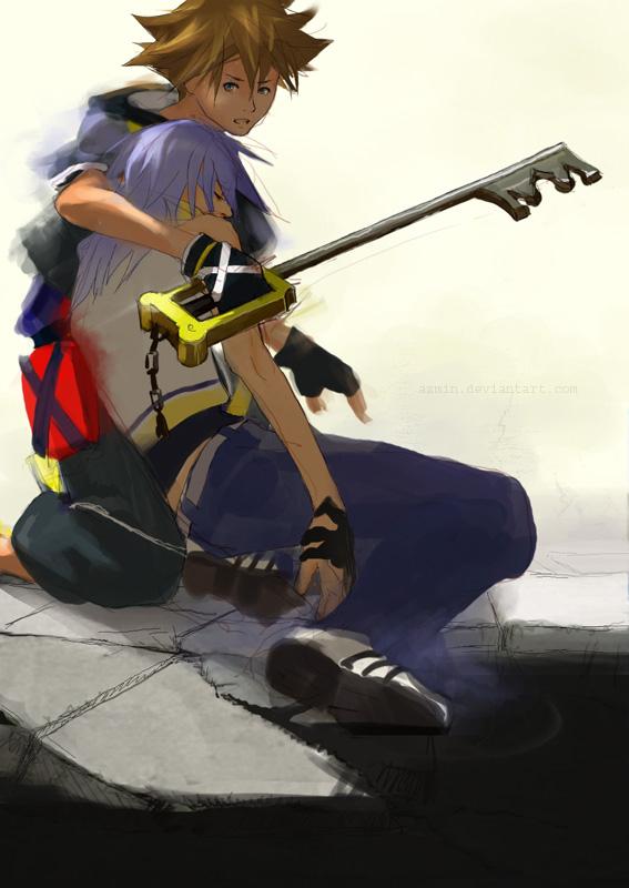 KH: Sora + Riku by azmin