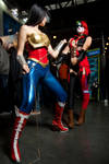 Injustice - Wonder Woman and Harley Quinn