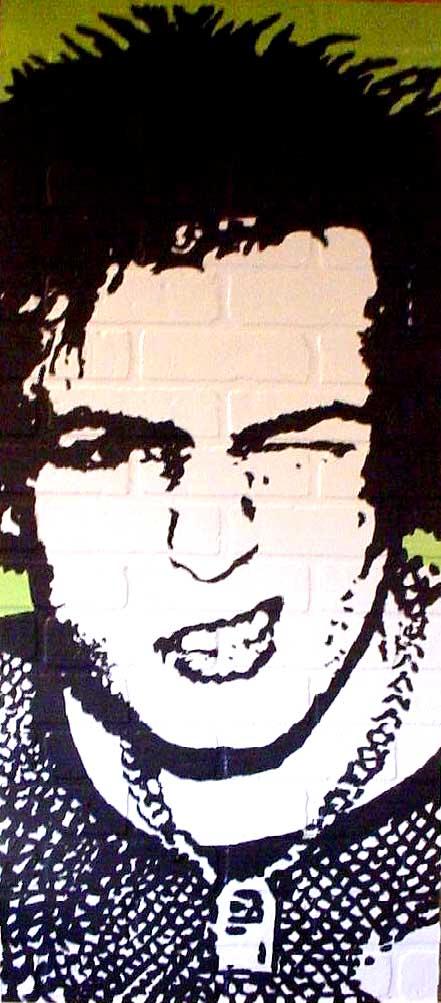 Sid Vicious Sex Pistols new by chrispjones