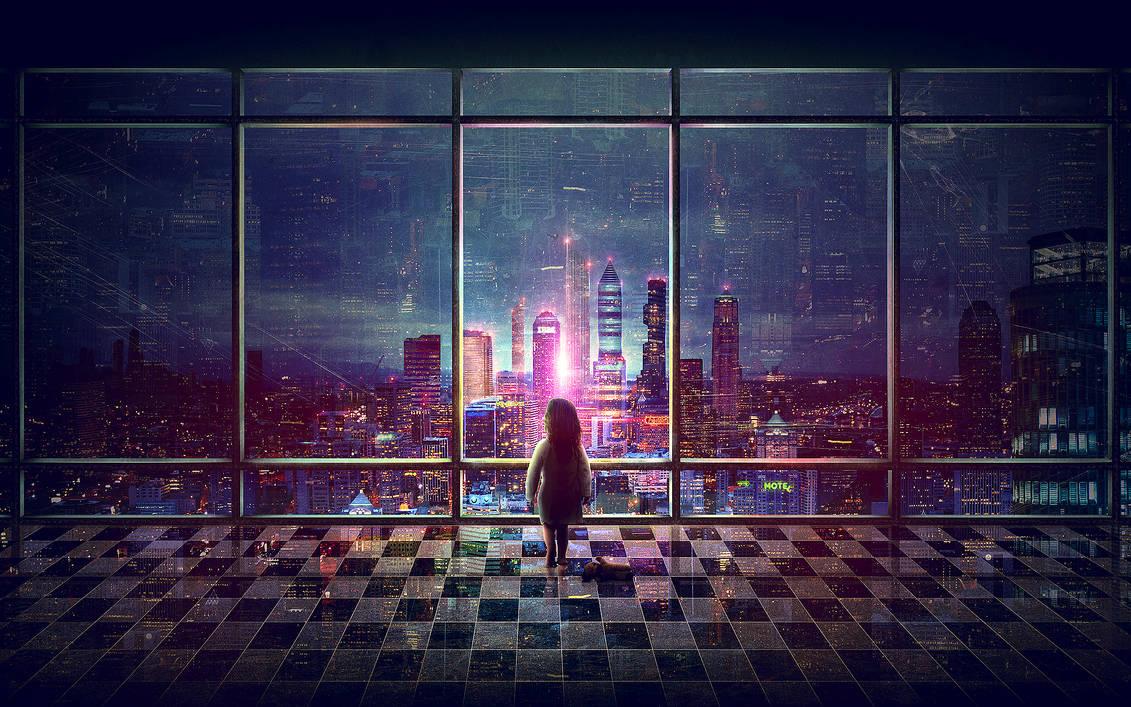 dancing city lights