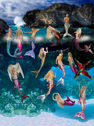 Mermaids 's Coven by seawaterwitch