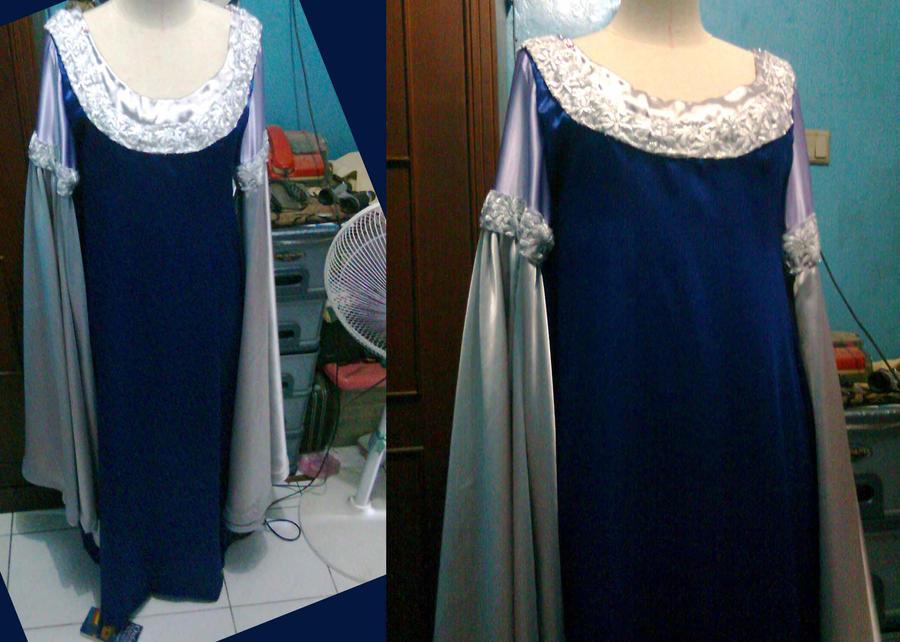 Arwen Blue Costume Arwen Blue Dress