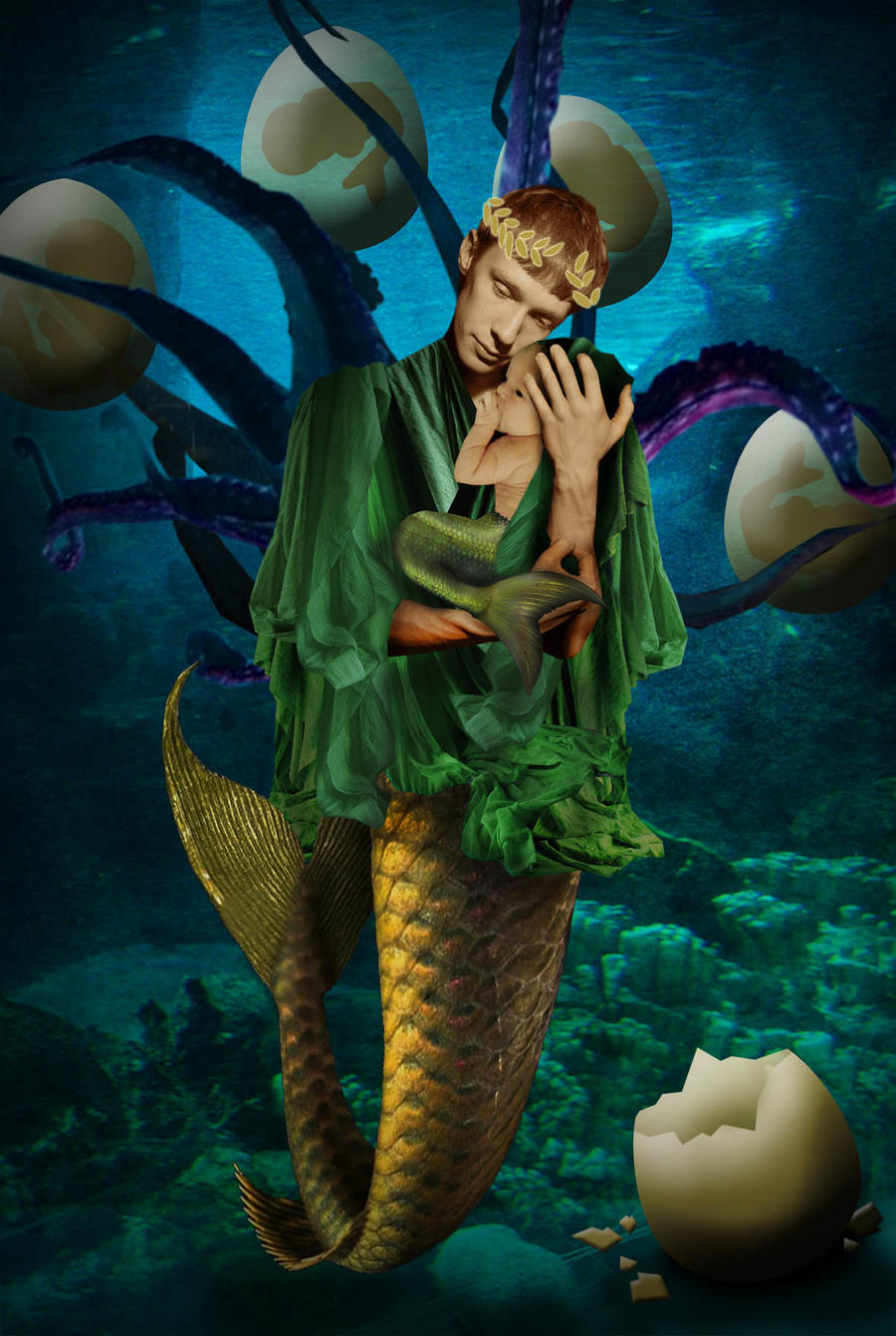 Merman part 18 by seawaterwitch on DeviantArt