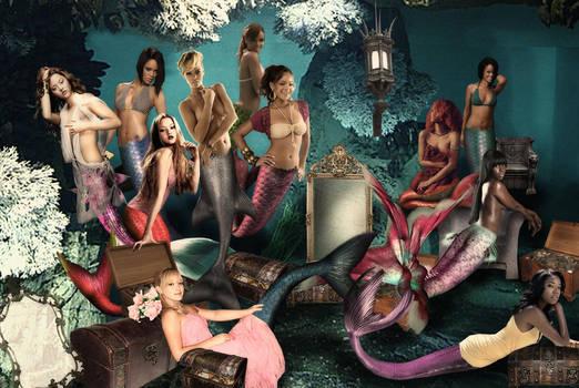 Mermaid Princess Rihanna