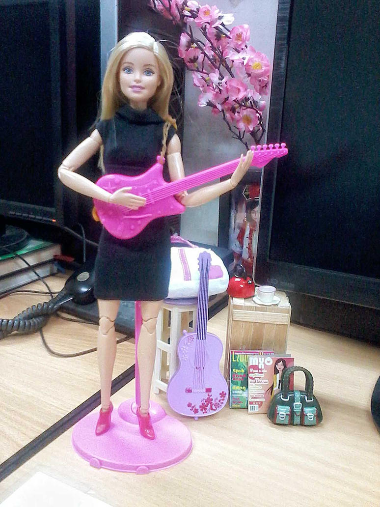 Barbie playing like a stone by audioslave by seawaterwitch