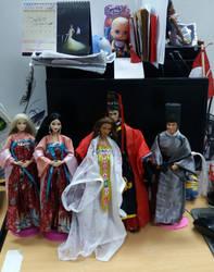 hanfu ken doll and hanfu barbie part 3 by seawaterwitch