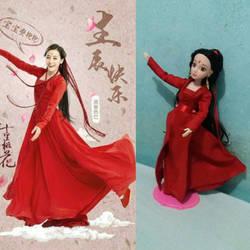 Bai Fengjiu doll part 3 by seawaterwitch