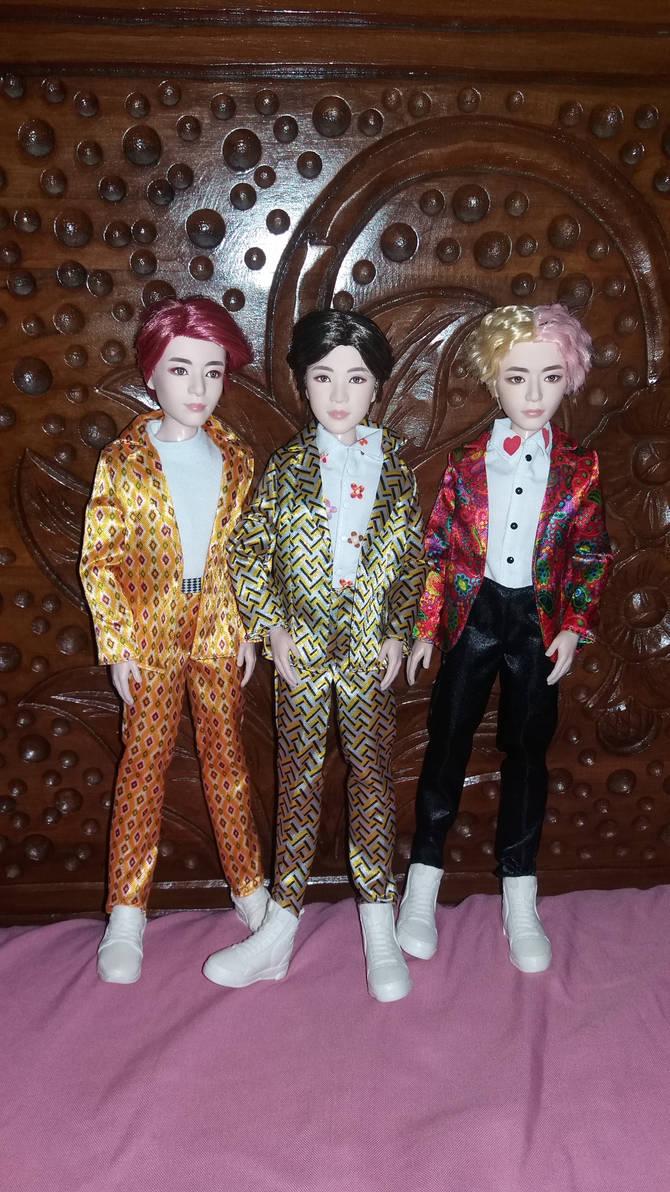 BTS mattel dolls Jungkook Suga V