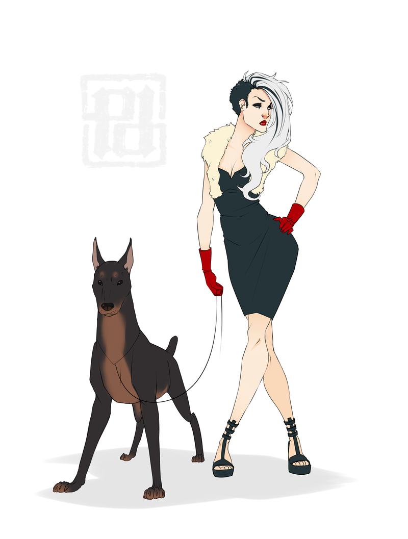 Cruella Deville by PaolaPieretti