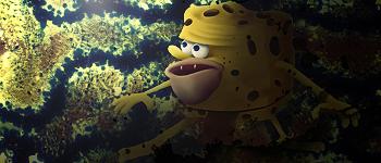 SpongeBob Caveman Smudge by KLIPOX