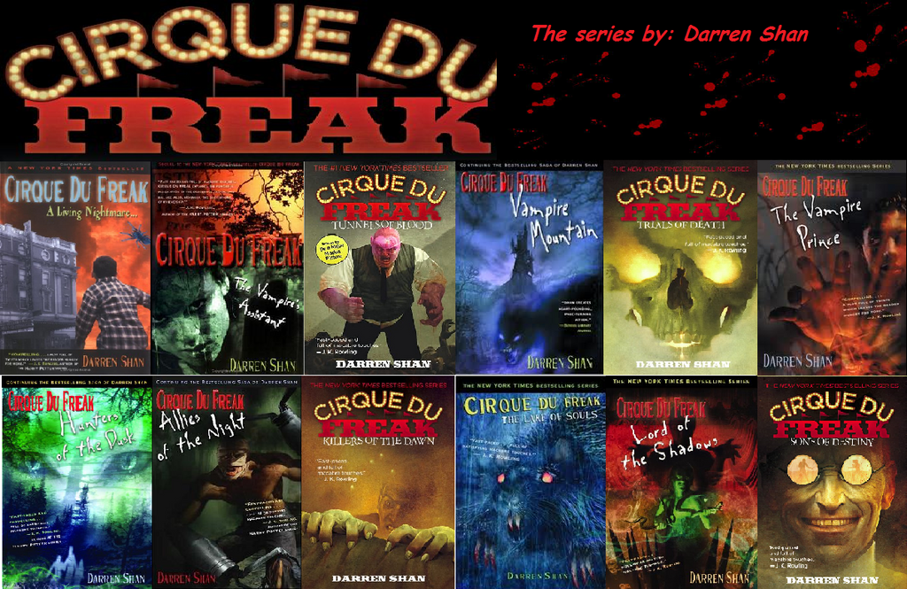 cirque du freak book report Cirque du freak (the vampire's assistant) book 2 then evra and darren left the cirque du freak and on his way he couldn't stop thinking about blood report.