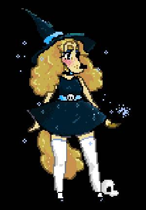 witch pixel