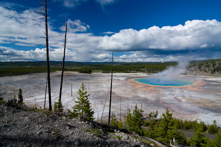 Grand Prismatic Panoramic by LakeFX