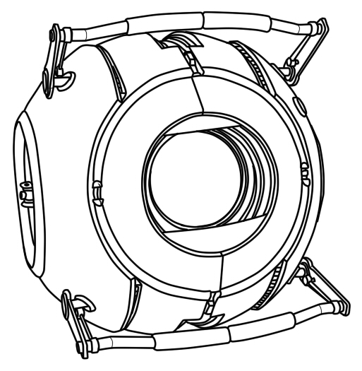 portal 2 coloring pages - core portal 2 coloring pages coloring pages