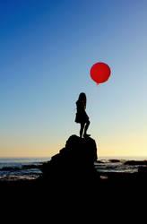 Le Ballon Rose - 2 by MiniWookie