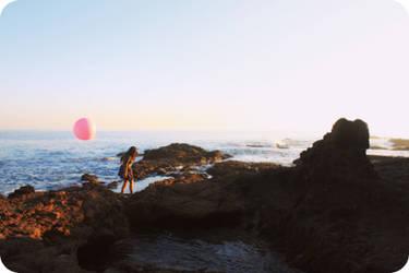 Le Ballon Rose - 3 by MiniWookie