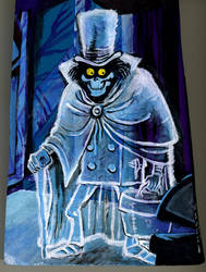 Hatbox Ghost by MightyBedbug