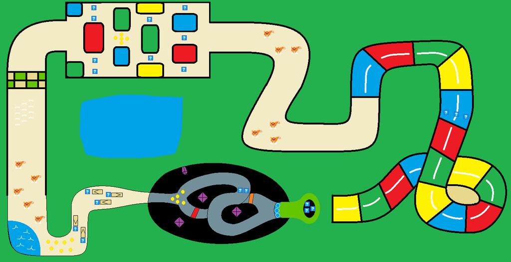 mario kart track ideas mario circuit by bluecola101 on deviantart. Black Bedroom Furniture Sets. Home Design Ideas