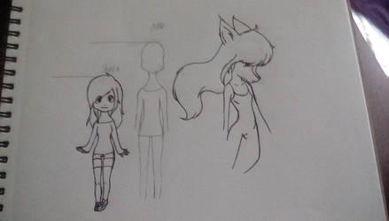 Shinrin (Wolf Children) by Wretched4ndDivine