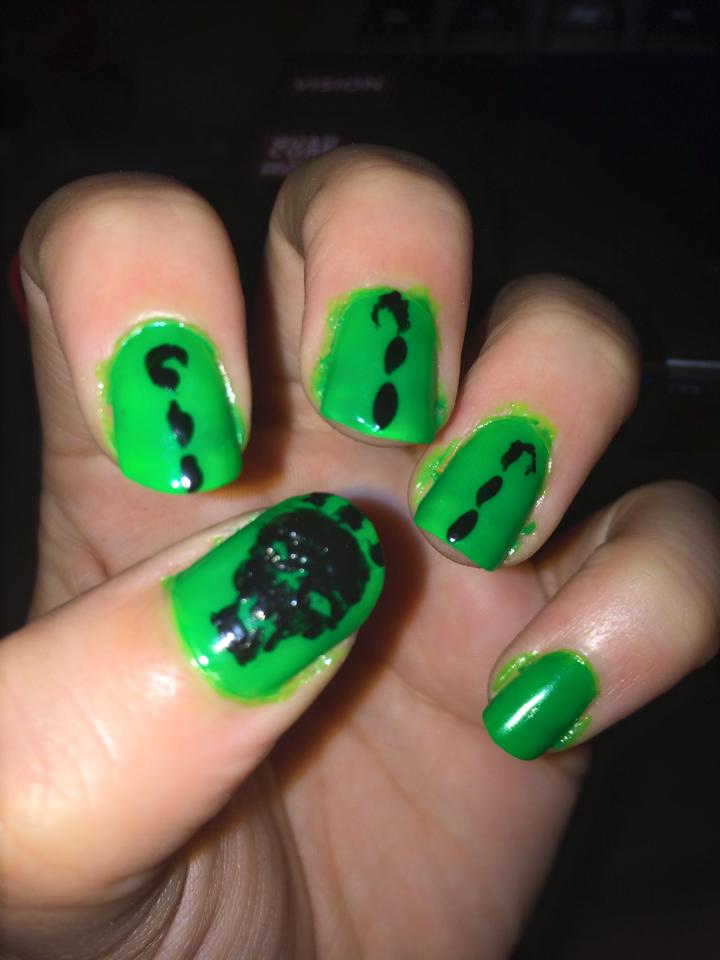 Thresh Nail art by Ask-Key