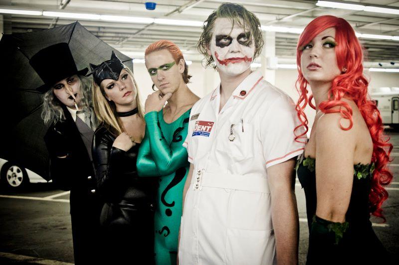 Batman Villains by Sydabee
