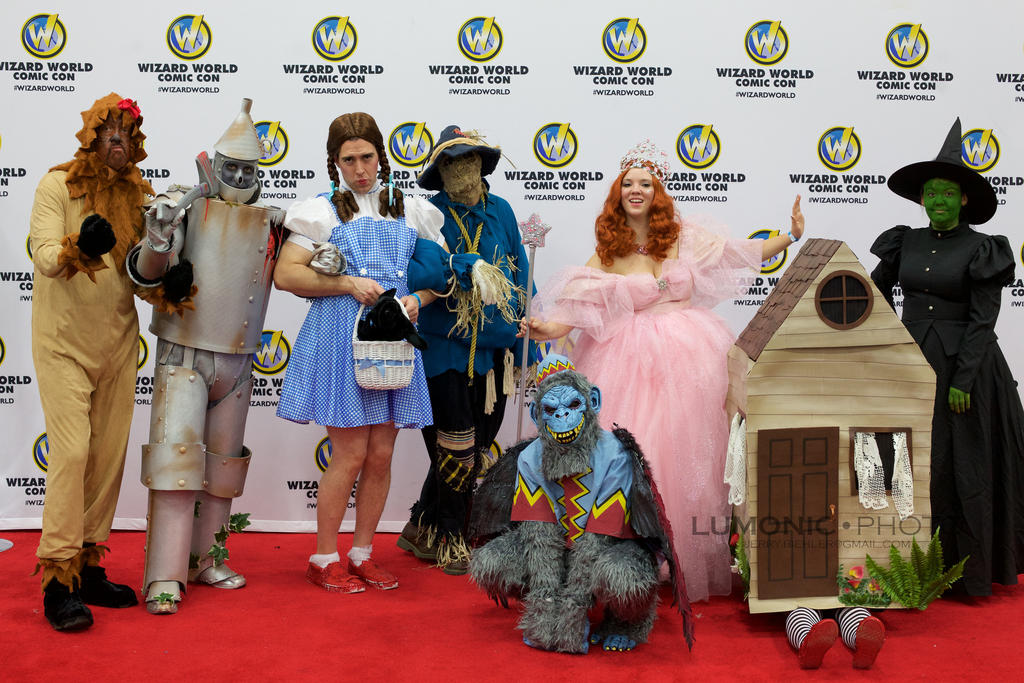 The Wizard of Oz at Wizard World by Sydabee