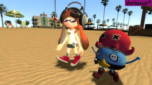 Meggy and Auri in Sunset Paradise